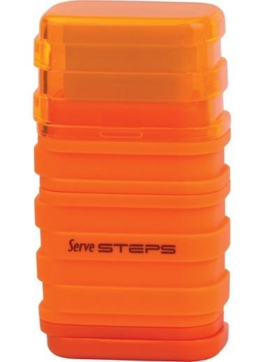Serve Steps Sılgılı Kalemtıras Turuncu Teklı Renkli